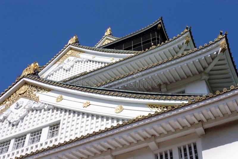 Japan: Het Kasteel van Osaka stock afbeeldingen