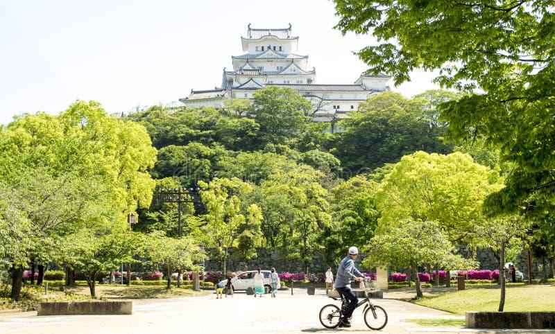 Japan himeji castle stock photos
