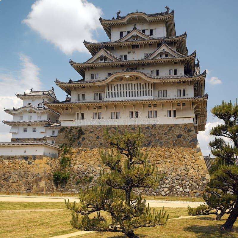 Japan-- Himeji-Schloss stockfotos