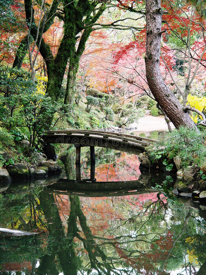 Free Japan Hiroshima Shukkeien Gardens Royalty Free Stock Photos - 770188