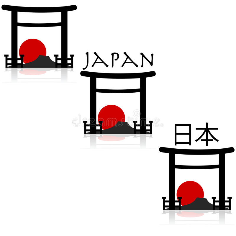 Free Japan Icons Stock Photography - 40320882