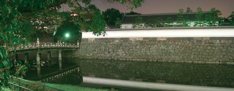 Japan imperialistisk slott - Tokyo arkivfoton