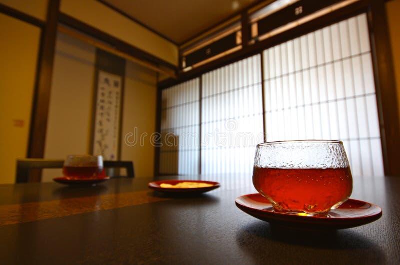 japan japantea royaltyfria foton