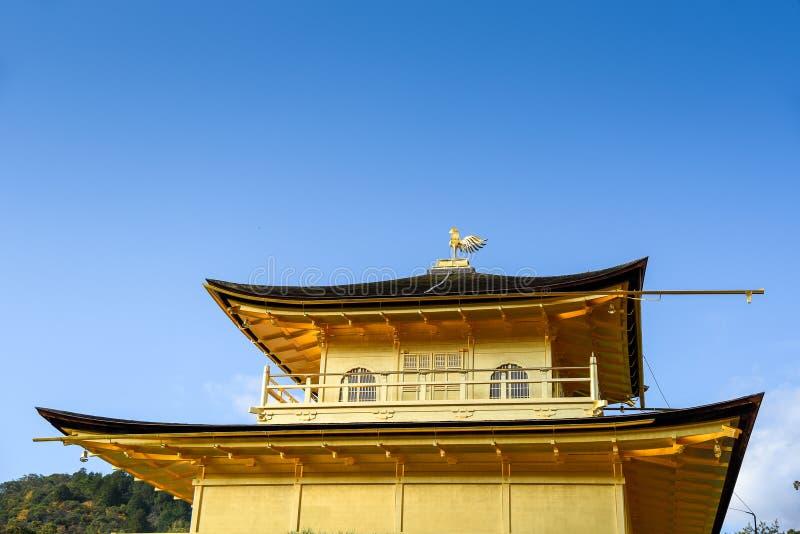 japan kinkakujikyoto tempel royaltyfria bilder