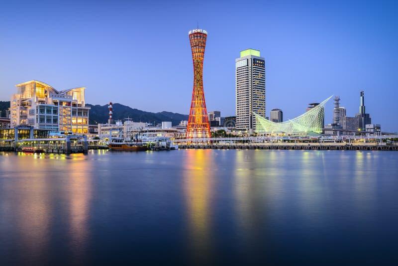 japan kobe fotografering för bildbyråer
