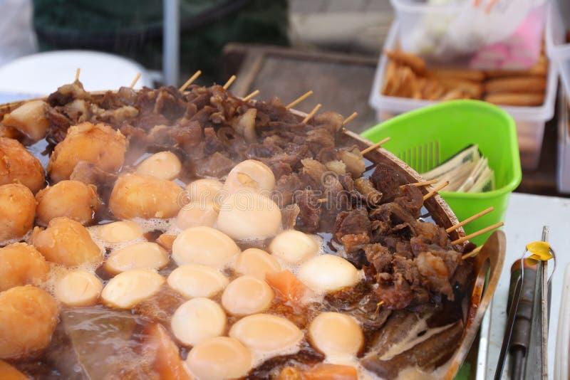 Japan kokkonst oden royaltyfri foto