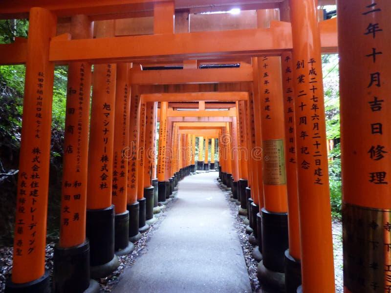 JAPAN. Kyoto. Fushimi Inari Shrine stock photography