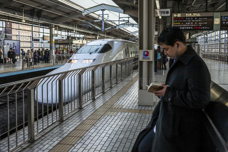 Japan - Kyoto - Kyoto railstation stock photos