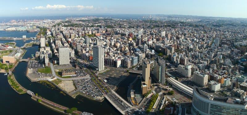 japan linia horyzontu Yokohama obraz royalty free