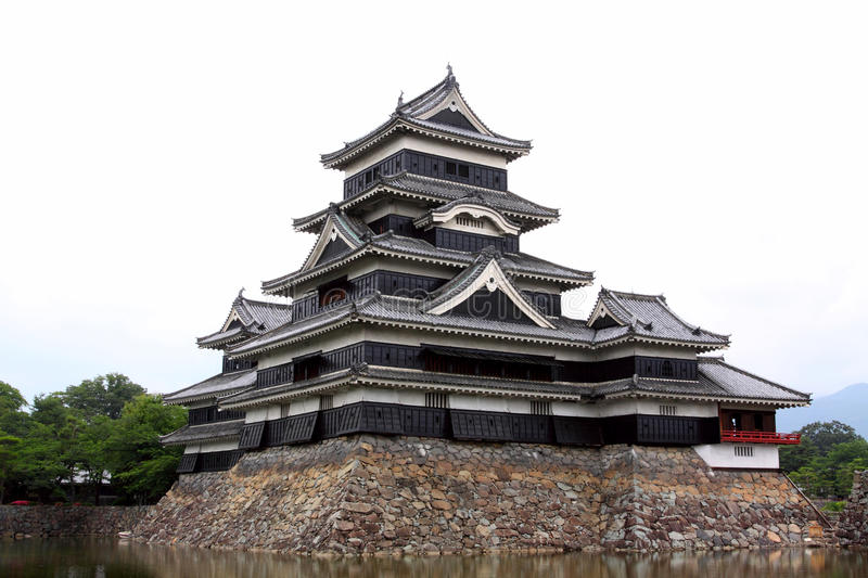 Download Japan : Matsumoto Castle stock image. Image of water - 20070683