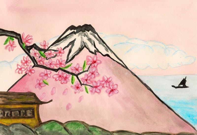 japan miłość ilustracja wektor