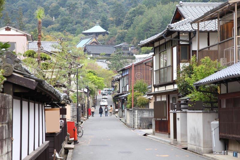 Japan - Miyajima stock afbeeldingen