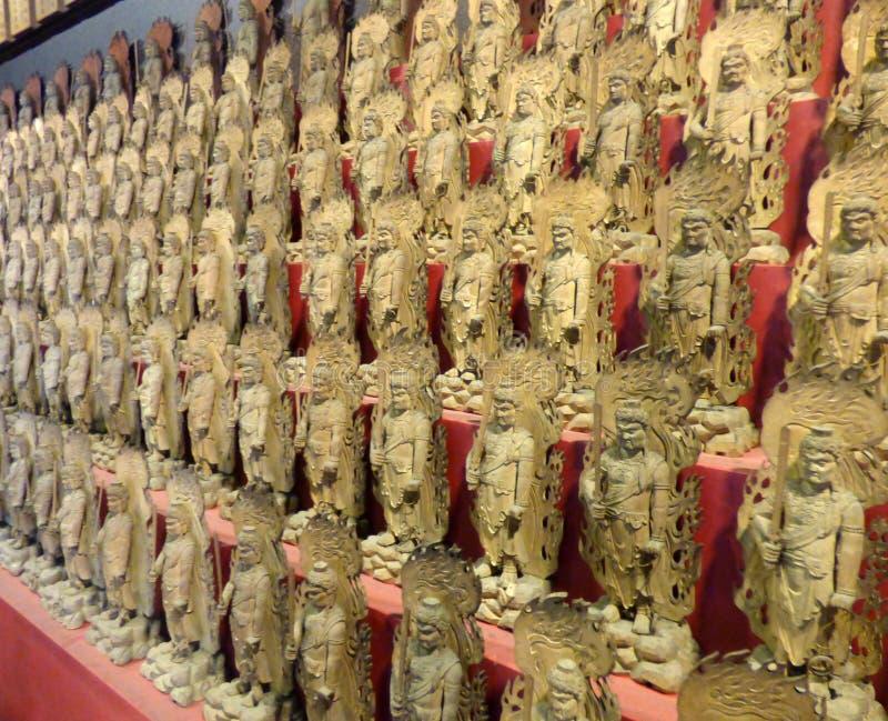 japan Miyajima Daisho-i templet arkivfoton