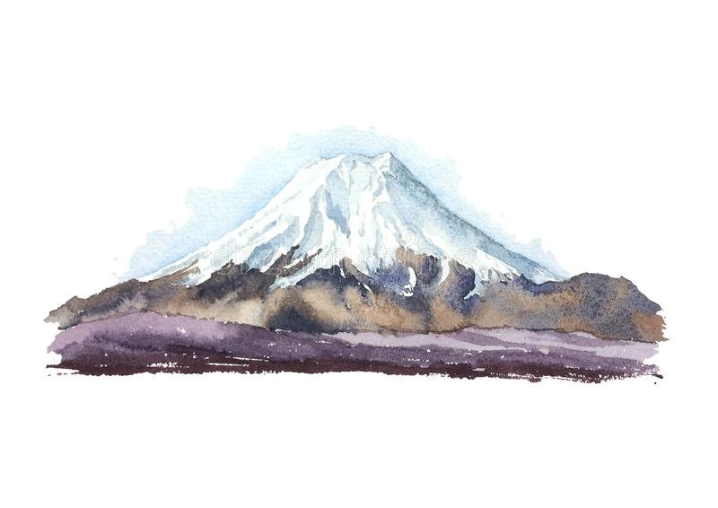 Japan Mount Fujiyama stock illustrationer