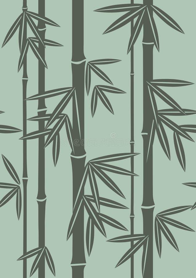 Japan-Muster für Klonen und zusammenfügen stock abbildung