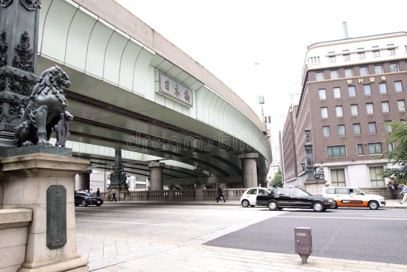 Japan : Nihonbashi stock images