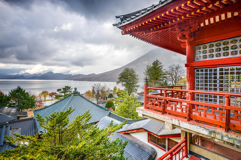 japan nikko royaltyfri bild