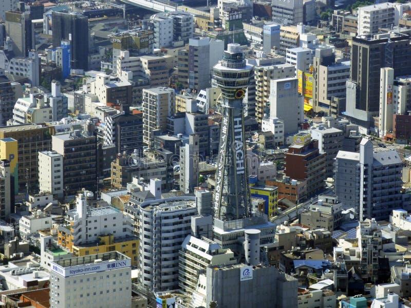 japan osaka De Toren van Abenoharukas royalty-vrije stock foto's
