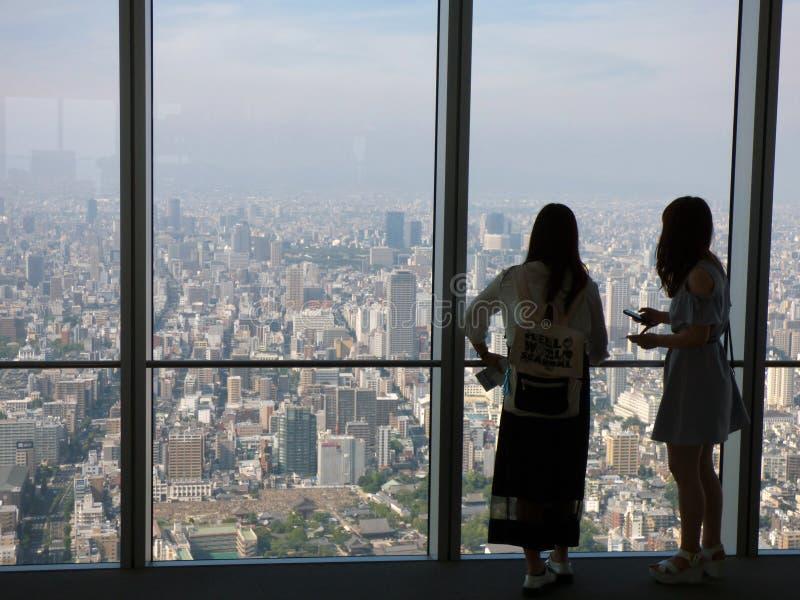 Download Japan Osaka Turm Abeno Harukas Redaktionelles Stockfoto - Bild von stadt, ansichten: 106800558