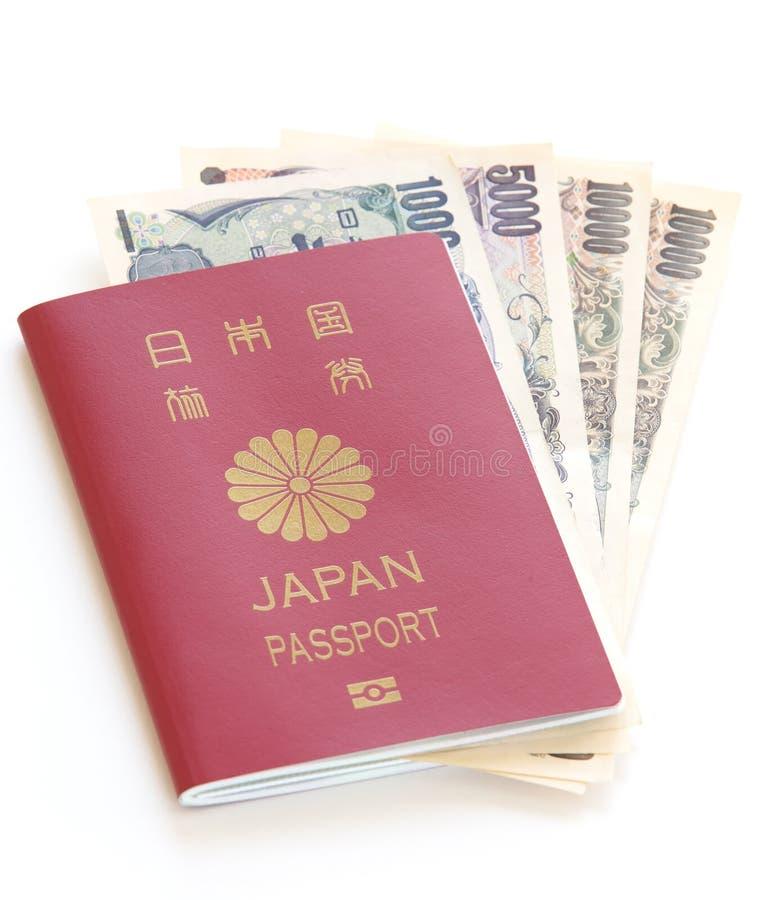 Japan passport stock photography