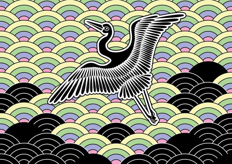 Japan pattern vector illustration