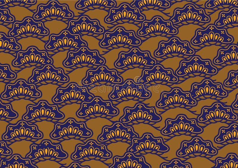 Japan pattern stock illustration