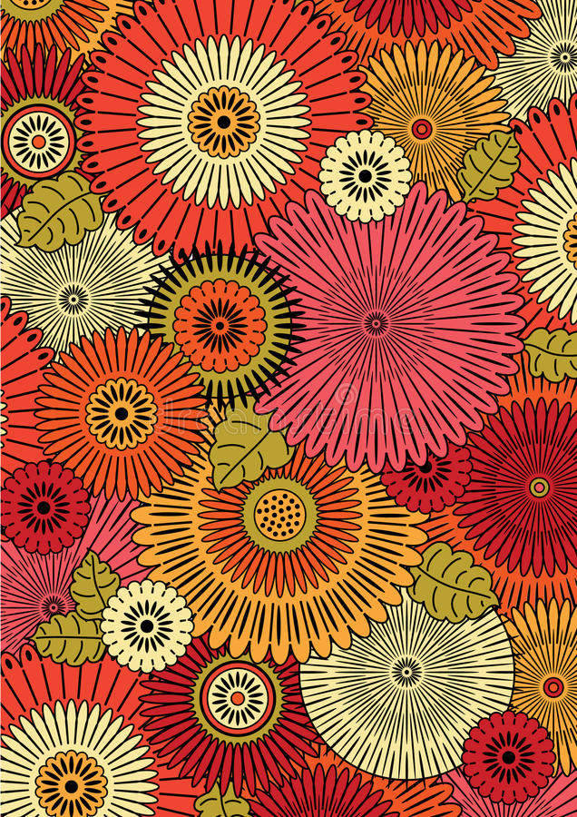 Japan pattern royalty free illustration