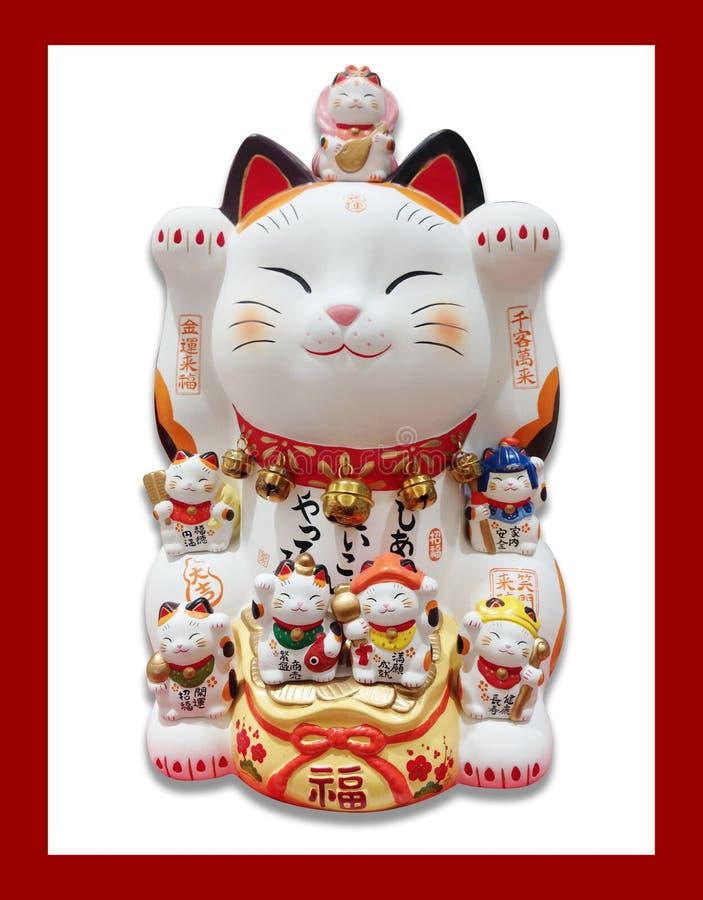 Japan plutus cat royalty free stock images