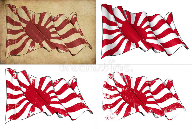Download Japan's Imperial Navy Historic Flag Royalty Free Stock Image - Image: 25812176