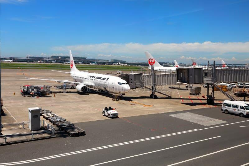 Japan s JAL Airlines royalty-vrije stock foto's