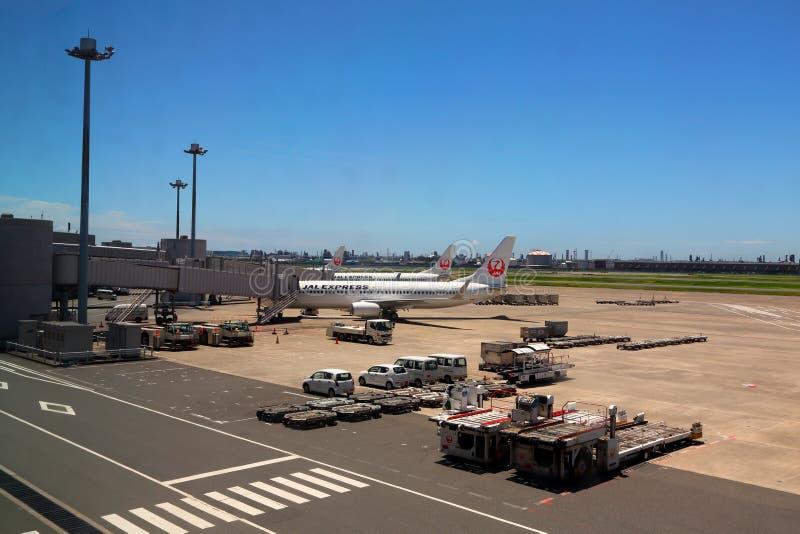 Japan s JAL Airlines stock fotografie