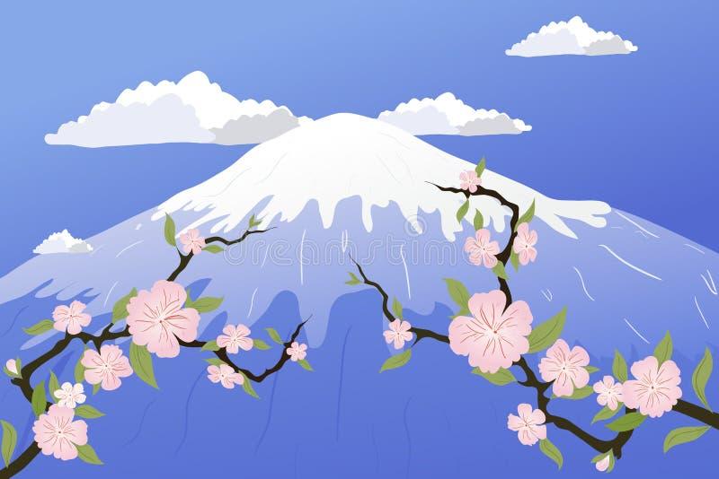 Japan Sakura stock abbildung