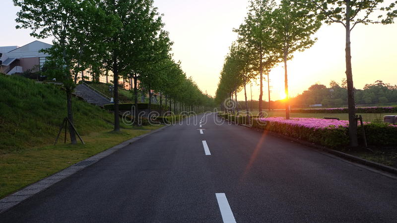 Japan scenery stock photos