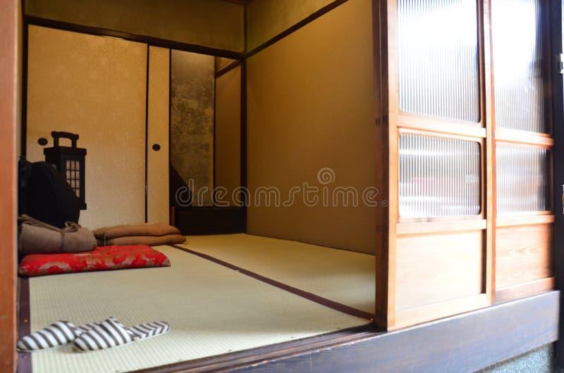 Japan-Schlafzimmer stockbild. Bild von fußboden, haupt - 57851689