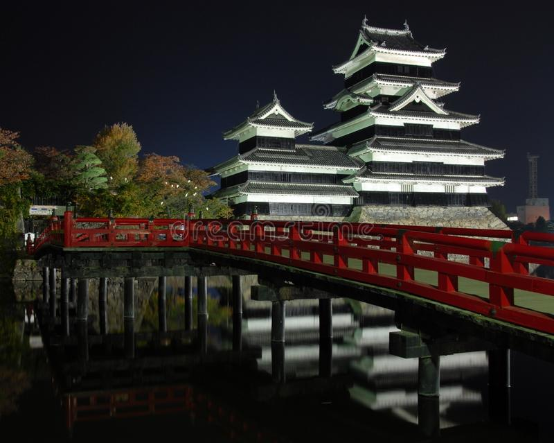 Japan-Schloss stockfotografie