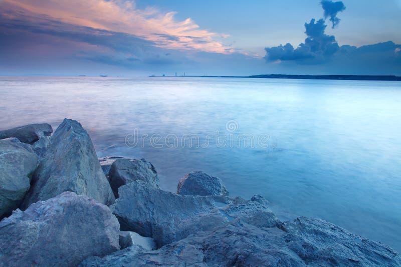 Download Japan seascape arkivfoto. Bild av fuji, härlig, orange - 27280230