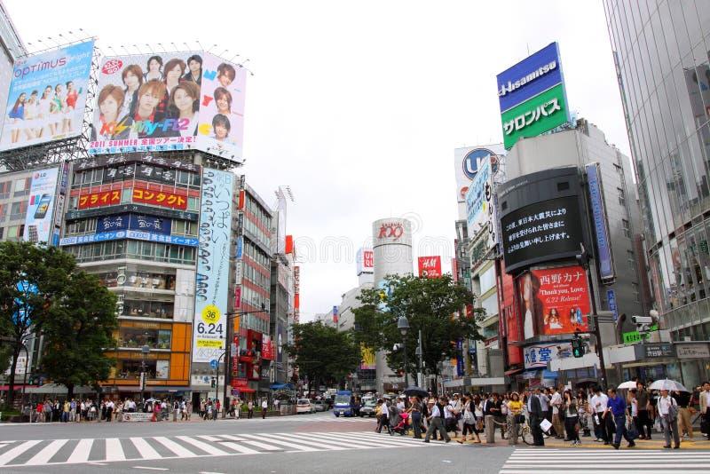 Japan: Shibuya arkivfoto