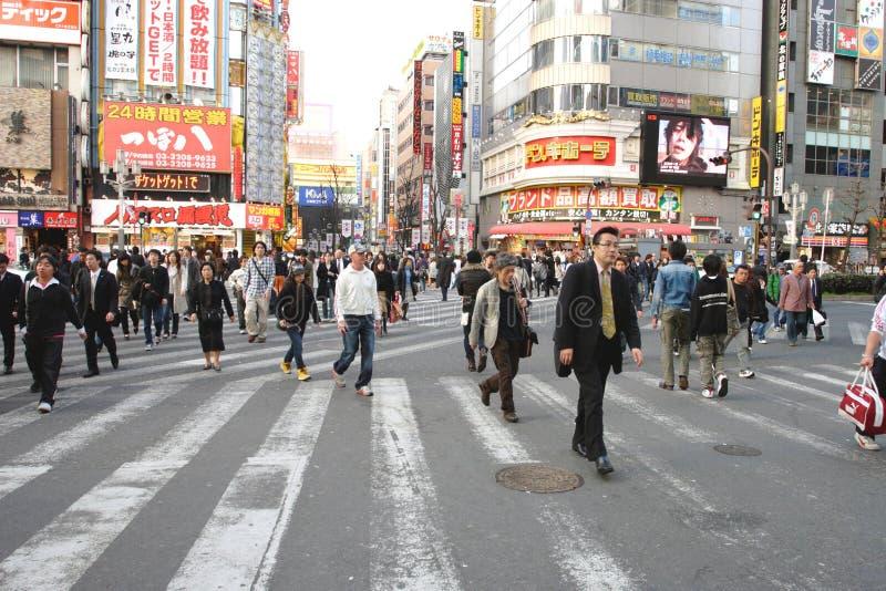 Japan: Shinjuku stockbild
