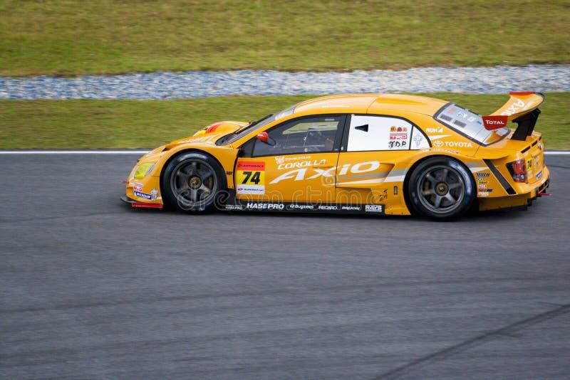 Japan Super GT 2009 - April van het Team royalty-vrije stock fotografie
