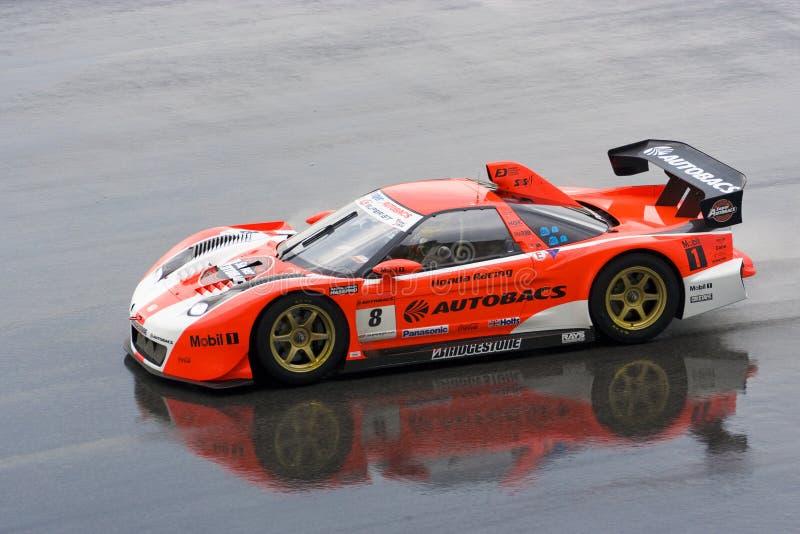 Japan Super GT 2009 - Autobacs Racing Team Aguri stock photos