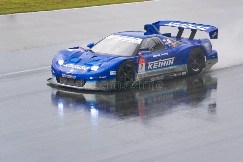 Japan Super GT 2009 - het Echte Rennen van Kehin van het Team stock afbeeldingen