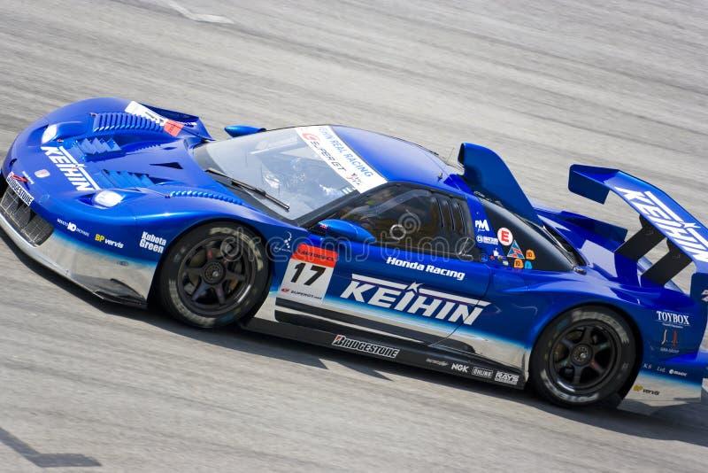 Japan Super GT 2009 - het Echte Rennen van Kehin van het Team stock fotografie
