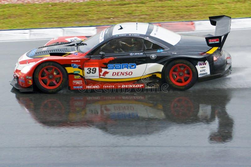 Japan Super GT 2009 - Lexus Team Sard stock foto