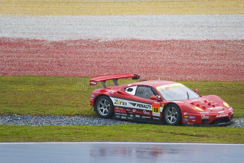 Japan Super GT 2009 - Team Jim Gainer Racing stock foto's