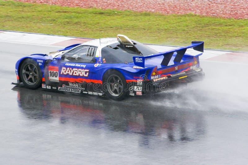 Japan Super GT 2009 - Team Kunimitsu royalty-vrije stock fotografie