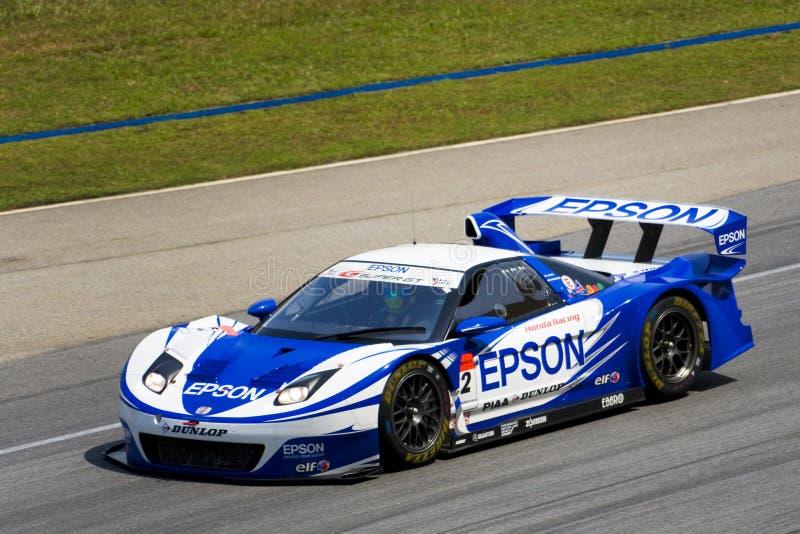 Japan Super-GT 2009 - Team Nakajima Laufen lizenzfreie stockbilder