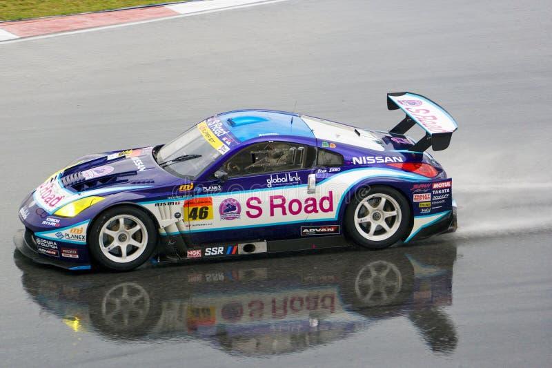 Japan Super GT 2009 - Team Nishikawa Mola royalty-vrije stock afbeelding