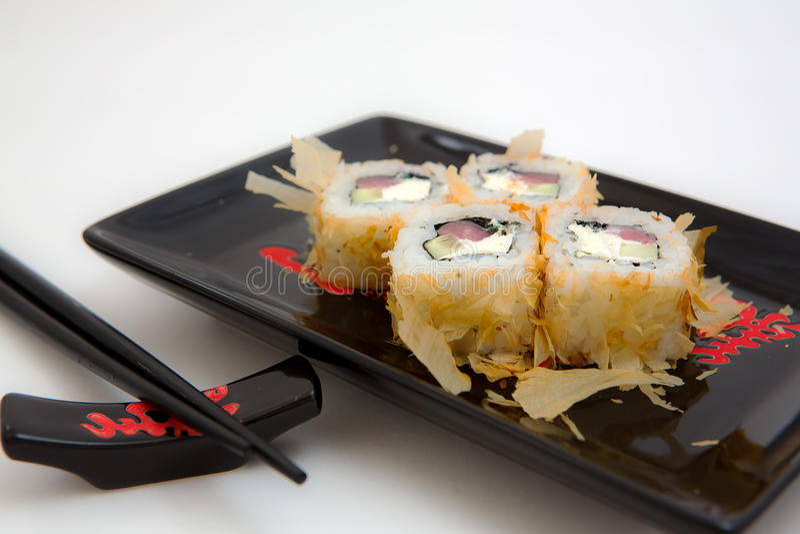 Japan-Sushi lizenzfreie stockfotos