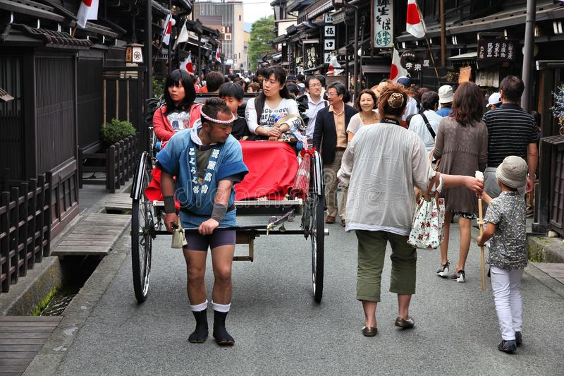 Japan - Takayama arkivfoto