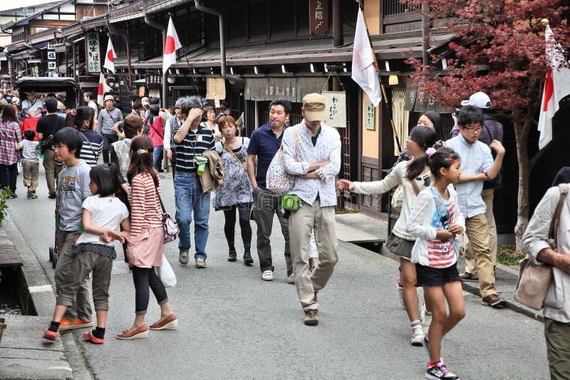 Japan - Takayama royaltyfri bild